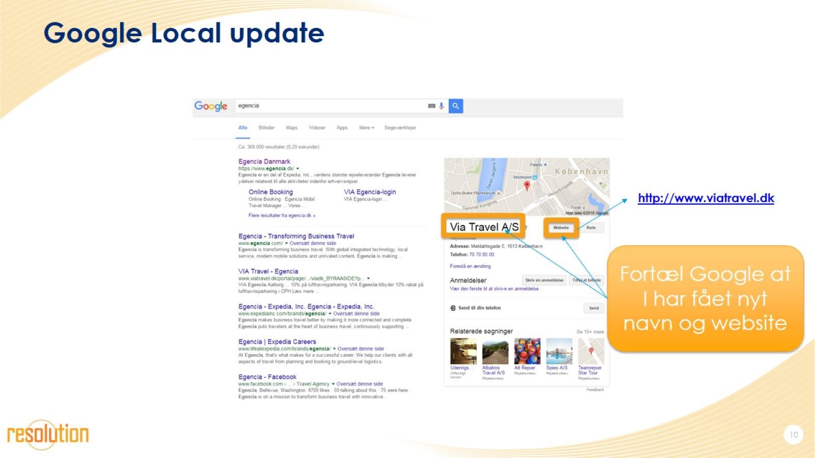 Google Local update