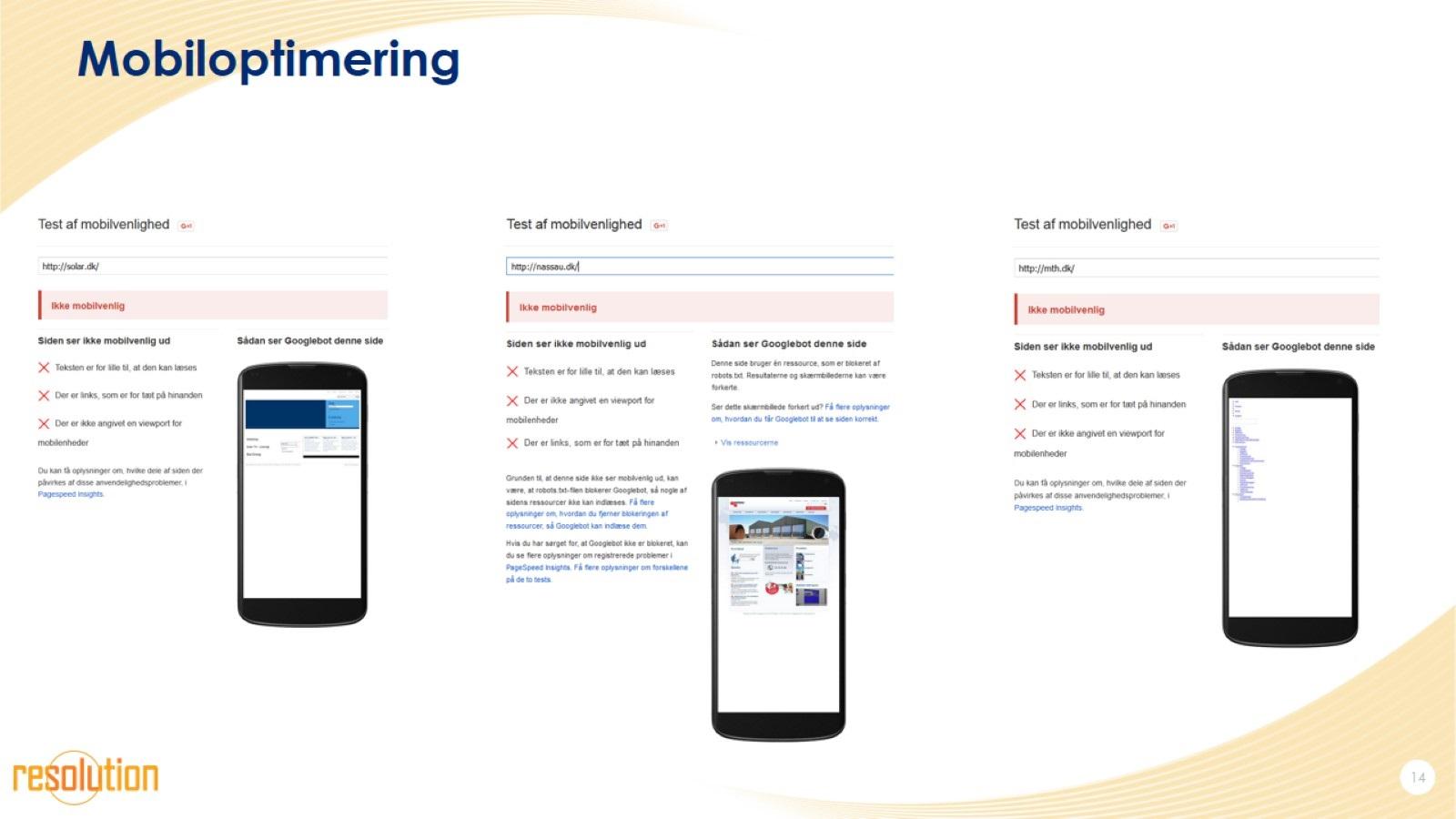 Mobiloptimering
