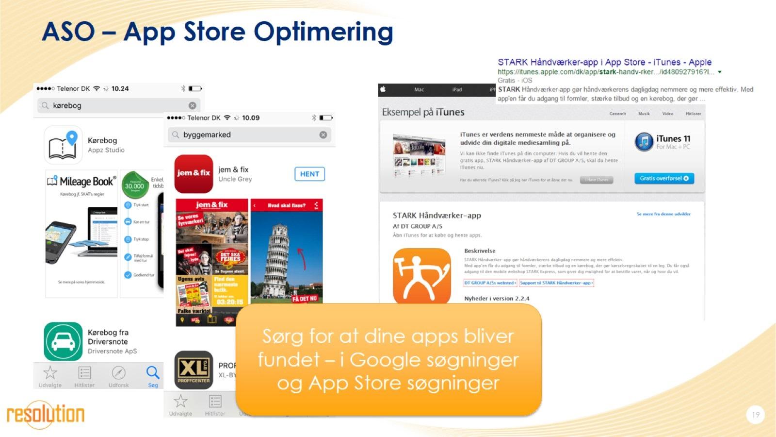 ASO – App Store Optimering